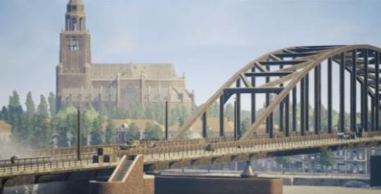In dit online simulatiespel waan je jezelf in het Arnhem van de Tweede Wereldoorlog