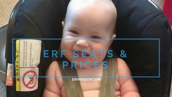 RF car seats and prices