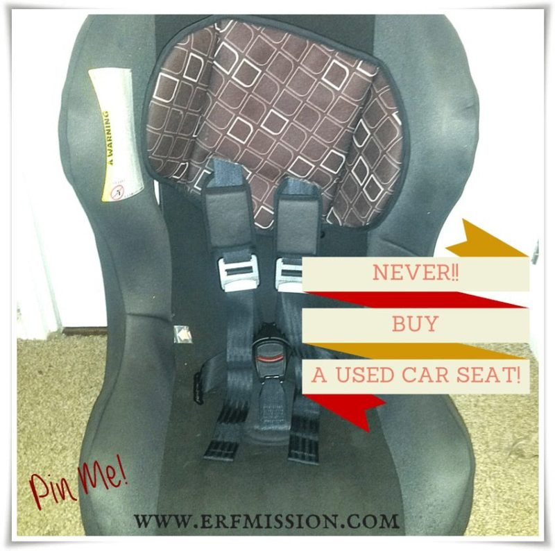 You Should Never Buy A Used Car Seat A Rear Facing Family
