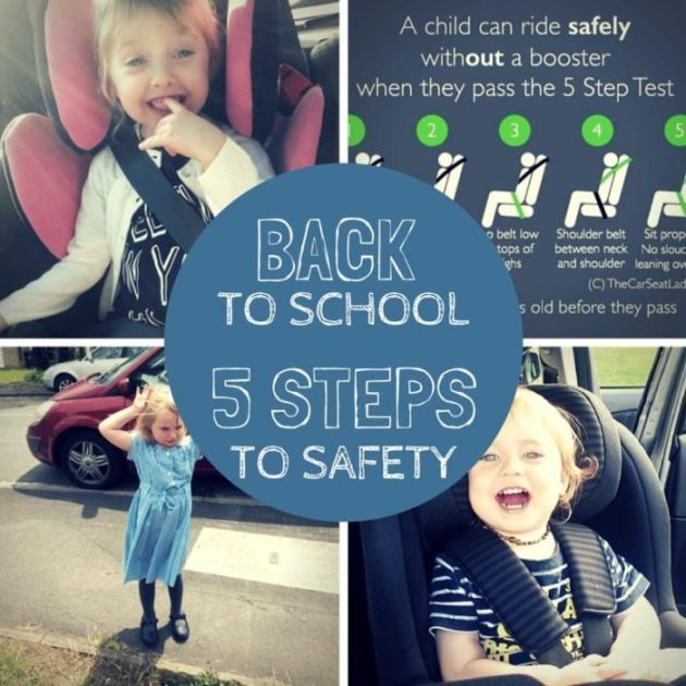 5 steps to safety
