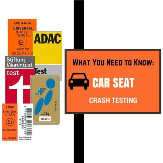 car seat crash testing