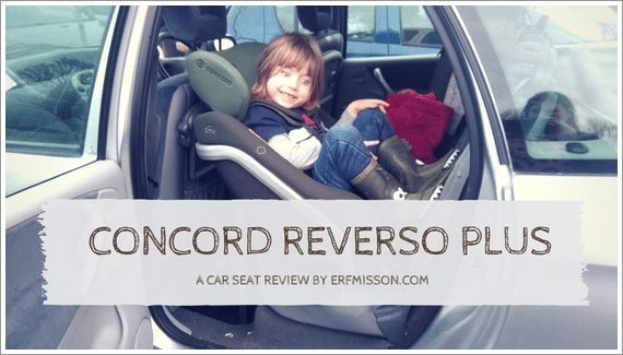 Concord Reverso Plus Car Seat Review A Rear Facing Family