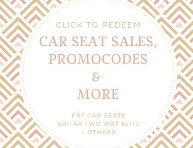 Britax TWE car seat sales and more