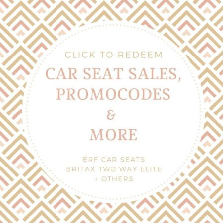 Britax TWE car seat sales and more