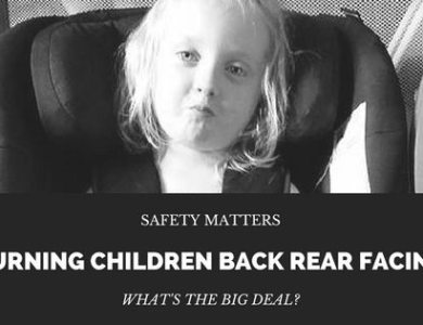 Turning Children Back Rear Facing