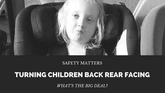 Turning Children Back Rear Facing