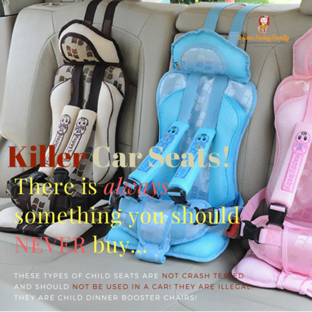 Never buy these killer car seats