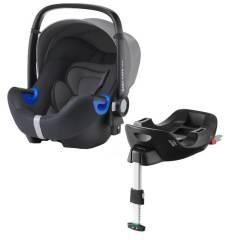 Britax Baby Safe i-Size Bundle Storm Grey