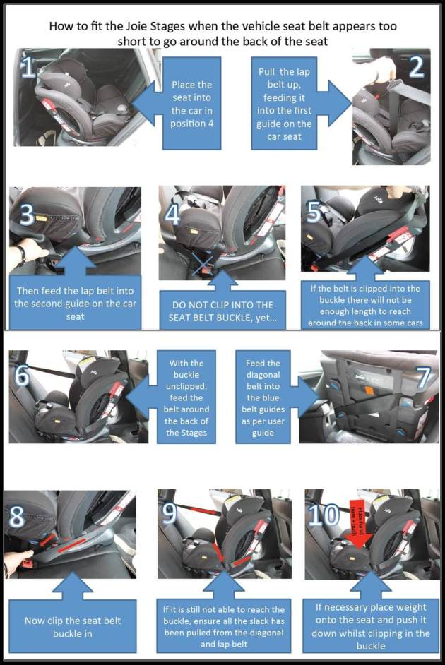 shor tseat belt guide