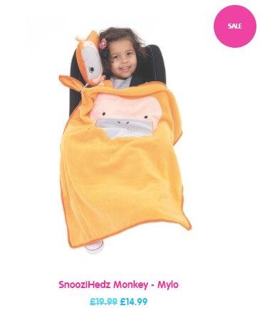 SnooziHedz Monkey - Mylo