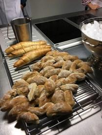 Auch das Brot wird selber gebacken.