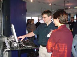 2001 schon wieder am Topix Apple Seminar an der Bionstrasse