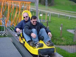 2002 auf dem 1. Mai Ausflug ins Appenzellerland