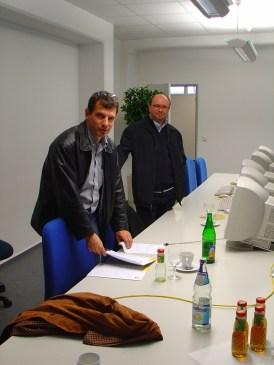 2005 zusammen mit Reto Büchler an der DTS Schulung in Bielefeld