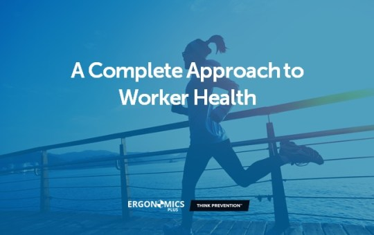 Why Ergonomics & Wellness are a Powerful Match