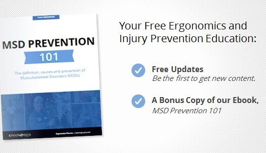 Get Free and Fresh Ergonomics Plus Content (and a Bonus Ebook)