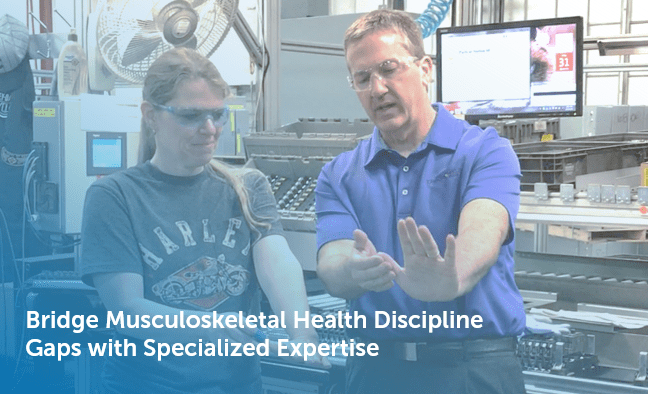 Specialized Musculoskeletal Health Expertise