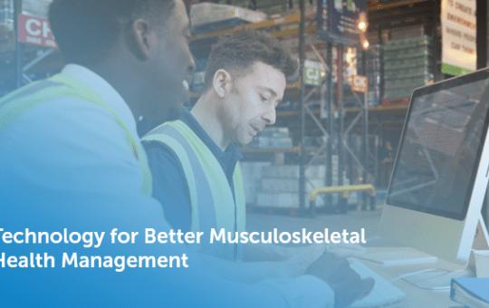 A Technology Platform for Better Musculoskeletal Health Management