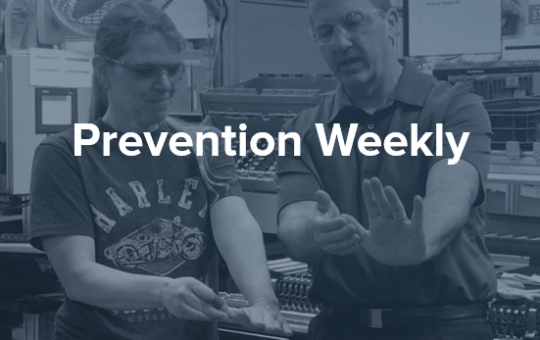 Prevention Weekly from Ergonomics Plus, 287
