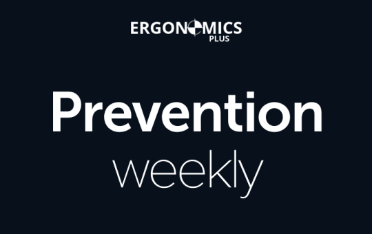 5 Ergonomics and Injury Prevention Articles Worth Reading (Prevention 227)