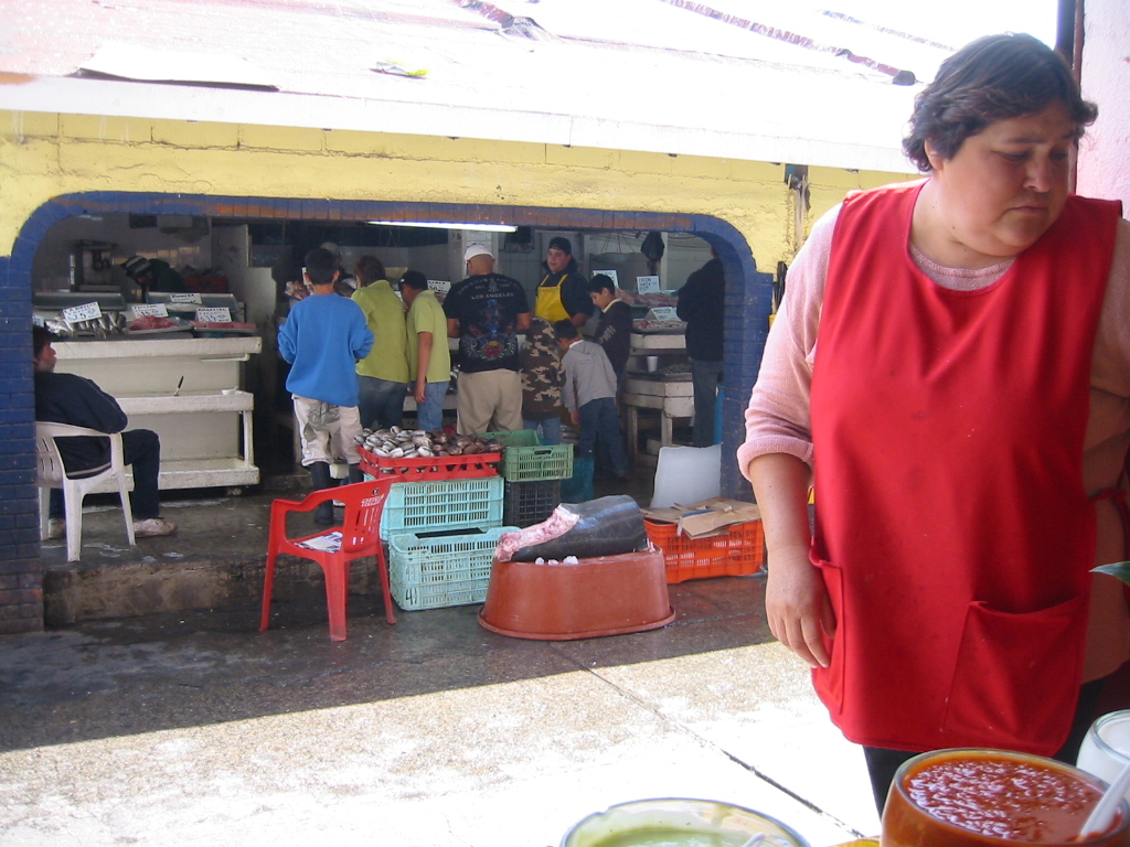 The fishmarket from Mary's Tacos
