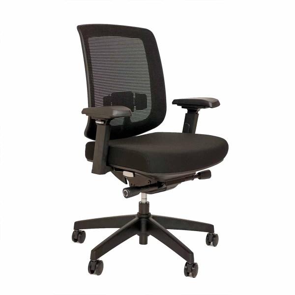 Beste bureaustoel met 4D armleggers Ergo C1 WEB