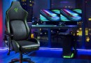 The ergonomic Iskur chair from Razer. When video games get down to ergonomics