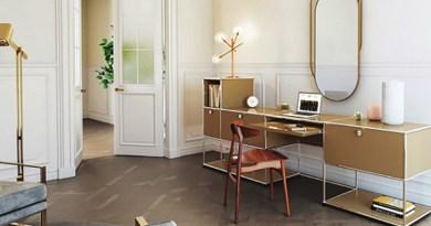 « Home sweet Home » pour un bureau à domicile idéal.