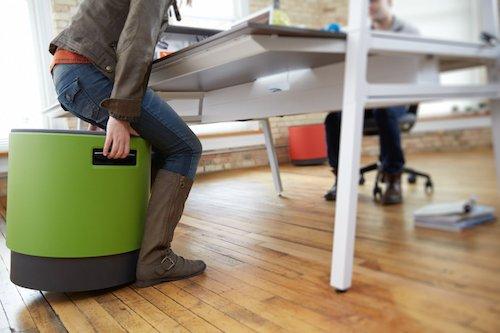 green bouy turnstone by steelcase in office