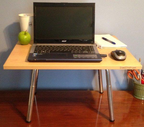 adjustable standup desk stand steady