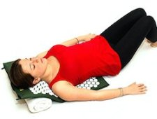 back pain gift idea - acupressure mat for back pain relief