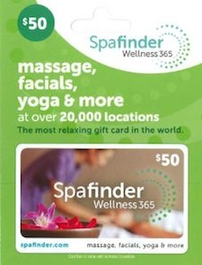 arthritis gift idea - spa massage gift certificate