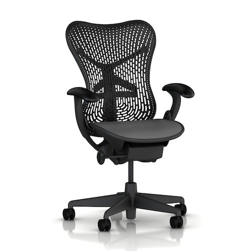 cost of mirra chair by herman miller