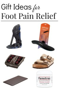 gift ideas for foot pain relief