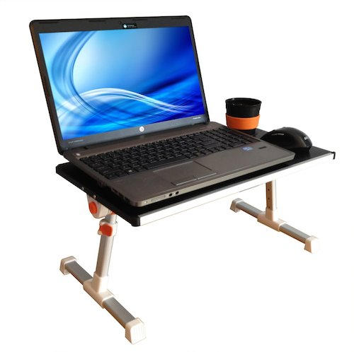 standing desk under $100 - traveler folding stand up desk