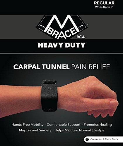 M BRACE RCA - HEAVY DUTY - Carpal Tunnel Treatment Wrist Support