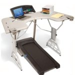 TrekDesk Treadmill Desk - Walk while working