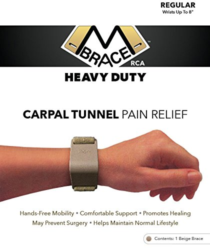carpal tunnel pain relief M BRACE RCA - HEAVY DUTY - Carpal Tunnel Treatment Wrist Support