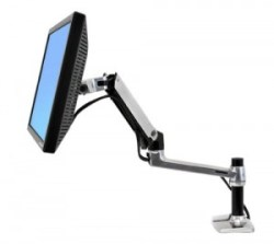 prevent eye strain with LX Desk Mount LCD Arm