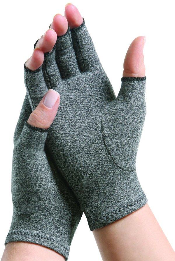 medium gray arthritis gloves