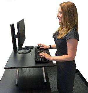 original stand steady converter to standing desk