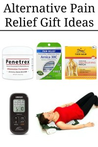alternative pain relief gift ideas