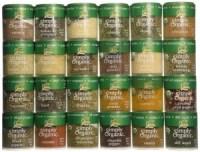 gift ideas for diabetics - Ultimate Organic Starter Spice Gift Set