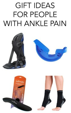 gift ideas for people with ankle pain