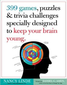 hip surgery recovery gift idea - 399 Games, Puzzles & Trivia Challenges Specially Designed to Keep Your Brain Young
