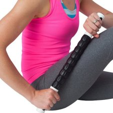relieve sore muscles with #1 Muscle Roller Stick - Professional Grade Trigger-Point Design