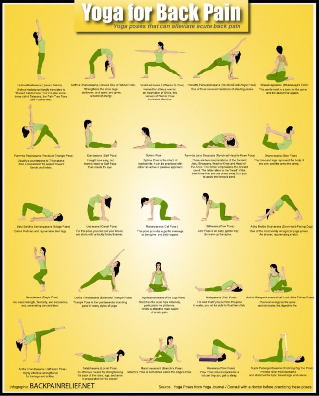 yoga for back pain - yoga poses to help relieve back pain