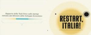 Restart Italia: Η αναφορά των Ιταλών για startup επιχειρήσεις