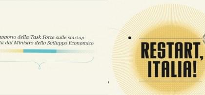 Restart Italia: Η άποψη των Ιταλών για την στήριξη καινοτόμων startup