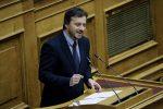 Παρέμβαση Απ. Πάνα προς Μ. Βορίδη στη Βουλή για τις χθεσινές χαλαζοπτώσεις στη Χαλκιδική